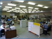 ▲事務室(営業・技術・電装)